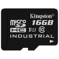 Карта памяти Kingston microSDHC 16GB Class 10 UHS-1 Industrial