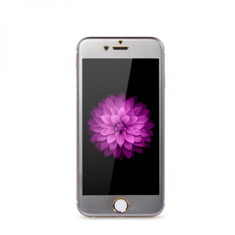 Защитное cтекло Remax для Apple iPhone 6, iPhone 6s, Metal Space Gray, 0.2mm, 9H