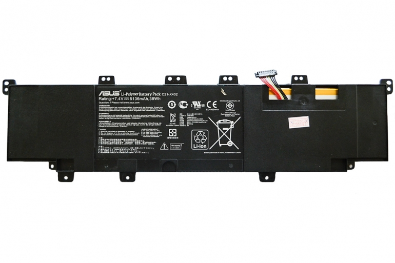 Батарея Asus F402 VivoBook X402 S300 S400C S400E 7,4V 5136mAh