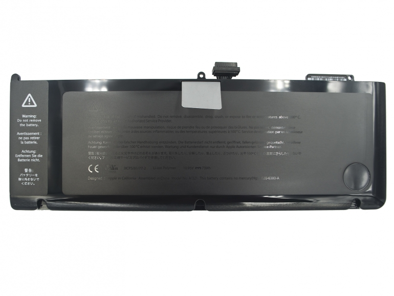 Батарея Apple MacBook Pro 15 A1286 (с середины 2009-2010) 10.95V 6600mAh