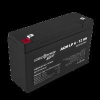 Аккумулятор LogicPower AGM LP 6-12 AH SILVER