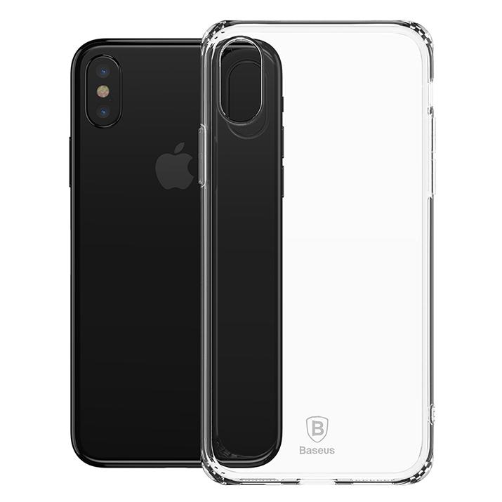 Чехол Baseus для iPhone X/Xs Anti-fall TPU Transparent