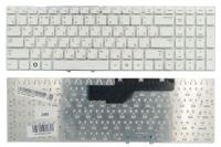 Клавиатура для ноутбука Samsung NP300E5A NP300V5A белая без рамки Прямой Enter