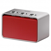 Портативная акустика Rapoo A600 Red/Silver