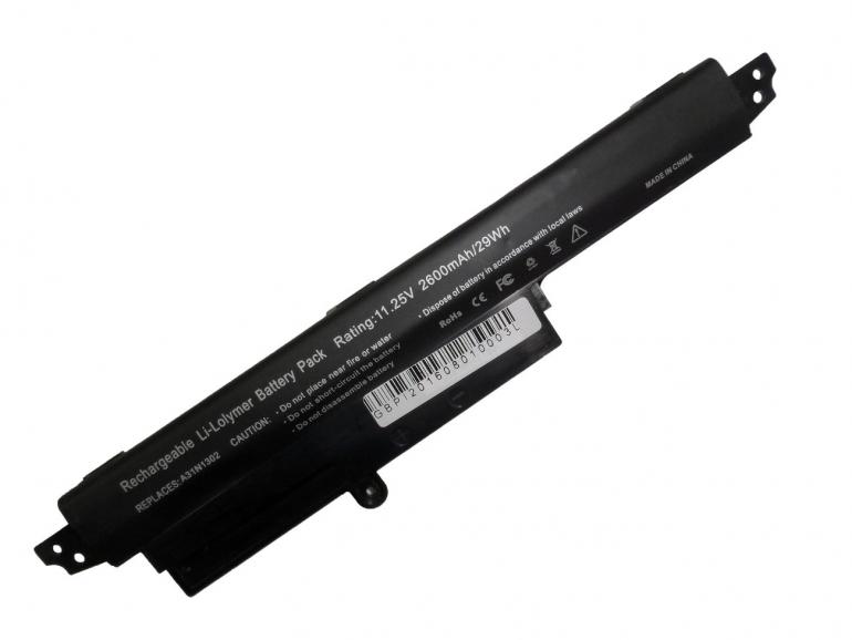 Батарея Elements ULTRA для Asus VivoBook X200CA X200MA F200CA R200CA R202CA 11.25V 2900mAh