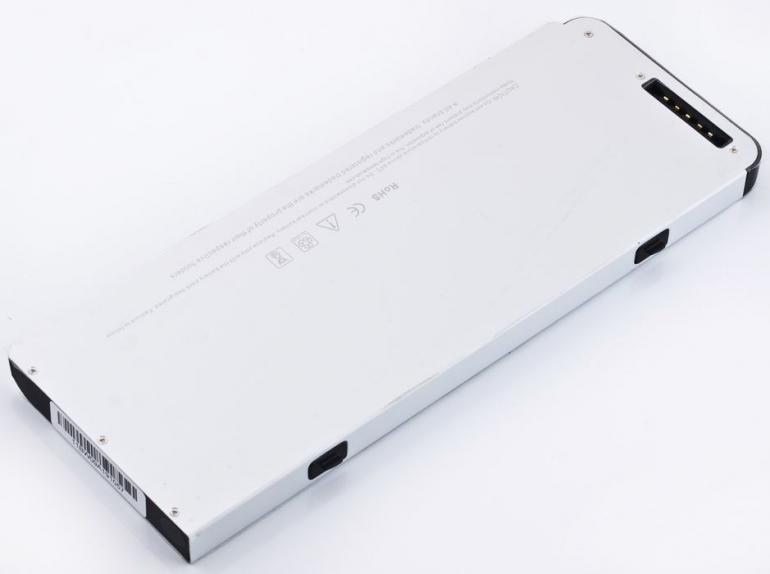 Батарея для ноутбука Apple MacBook 13 A1278 10.8V 4800mAh, серая