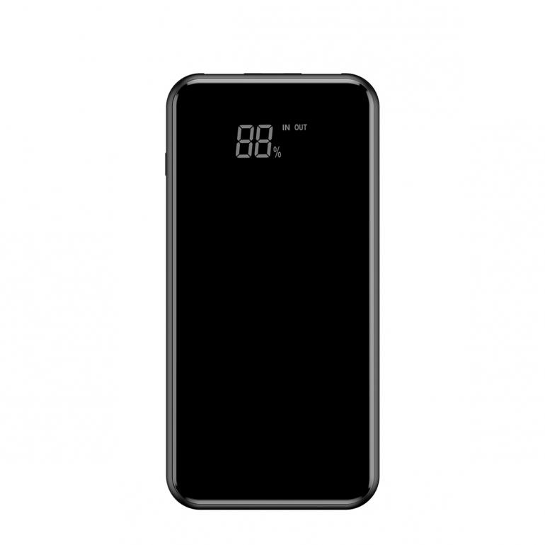 Беспроводной Внешний Аккумулятор Baseus Full Screen 8000mAh Black