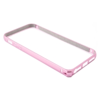 Бампер Devia для iPhone 5/5S/5SE Buckle Curve Pink