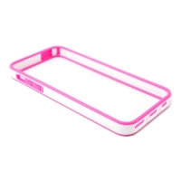 Бампер Devia для iPhone 5/5S/5SE Crystal Pink