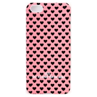 Чехол ARU для iPhone 5C Hearts Pink