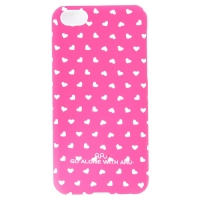 Чехол ARU для iPhone 5C Hearts Rose
