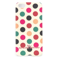 Чехол ARU для iPhone 5C Cutie Dots Coffee