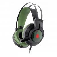 Наушники A4Tech J437 Bloody USB Black/Green