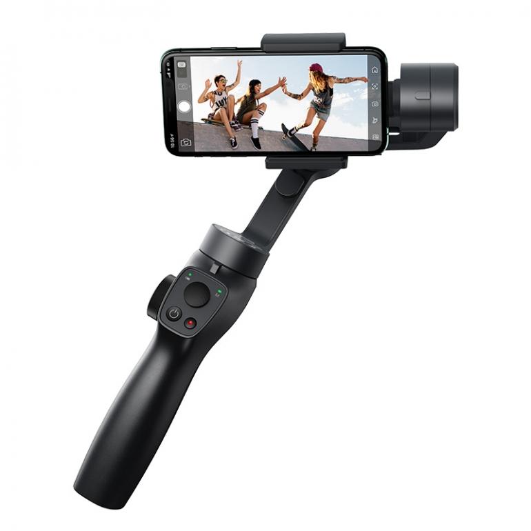 Стабилизатор для смартфона Baseus Control Smartphone Handheld Gimbal Stabilizer Серый