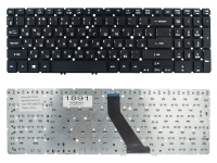 Клавиатура для ноутбука Acer Aspire V5-531 V5-551 V5-571 Ultra M3-581 M5-581 VN7-571 VN7-591G черная без рамки Прямой Enter