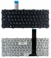 Клавиатура для ноутбука Asus X301 X301A F301 R300 черная без рамки Прямой Enter