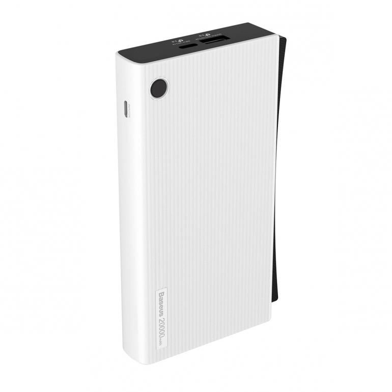 Внешний Аккумулятор Baseus Esazi QC3.0 20000mAh White