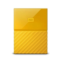 Внешний HDD Western Digital My Passport 2TB USB 3.0 White Yellow