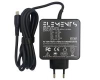 Блок питания Elements для ноутбука USB Type-C 65W