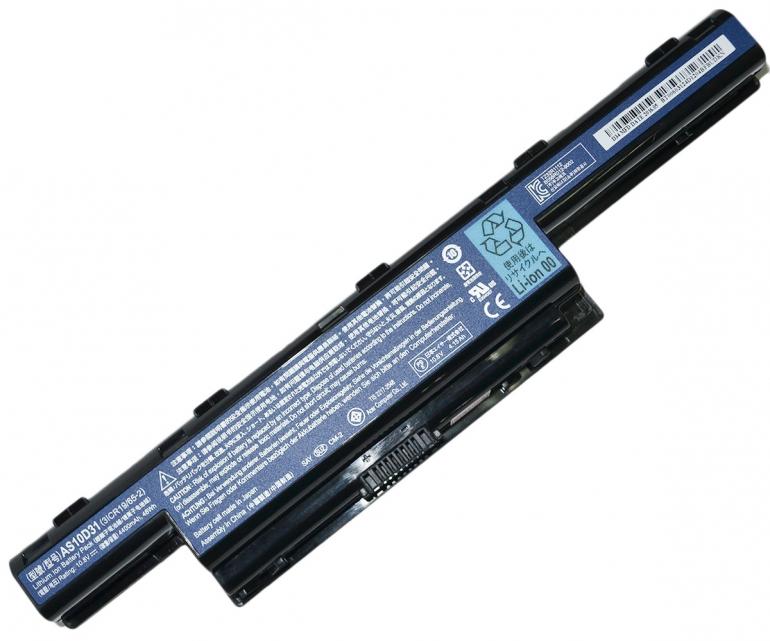 Батарея Acer Aspire 4552 5551 7551 TM 5740 7740 eM D528 G640 E640 10.8V 4400mAh