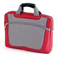 "Сумка для ноутбука 16"" Sumdex PON-318RD Red/Gray"