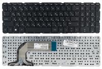 Клавиатура для ноутбука HP Pavilion 17 17-N 17-E черная без рамки Прямой Enter