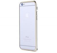 Бампер Remax для iPhone 6/6S Halo Silver
