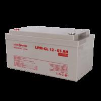 Аккумулятор гелевый LogicPower LPU-GL 12-65 AH