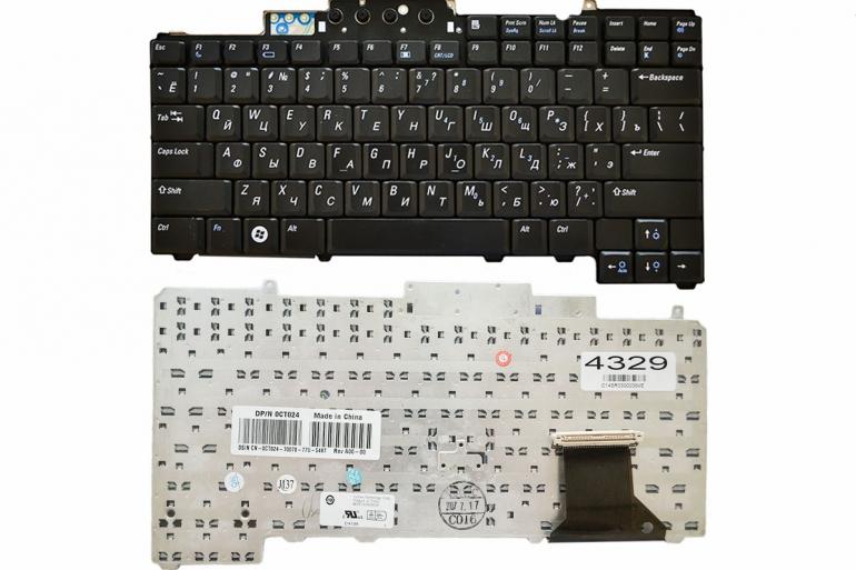 Клавиатура Dell Latitude D620 D630 D631 D820 D830 черная