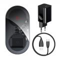 Беспроводное зарядное устройство Baseus Turbo Simple 2 in 1 24W Черный