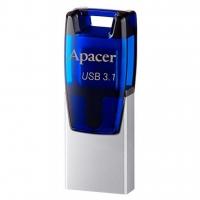 USB накопитель Apacer AH179 64GB OTG Blue