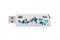 USB накопитель Goodram UCL2 Cl!ck 32GB White
