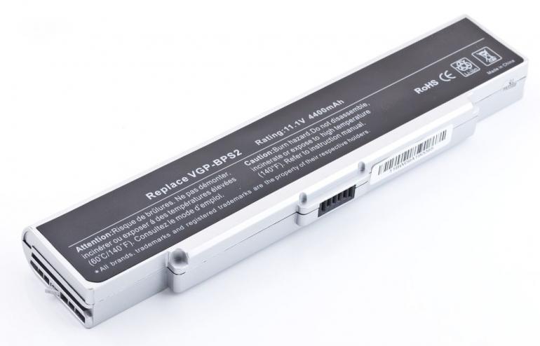 Батарея для ноутбука Sony VAIO VGN AR C FE FJ FS FT N S SZ 11.1V 4400mAh, серая