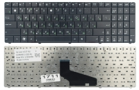 Клавиатура для ноутбука Asus X53SK X53SR X53TA X53TK X53U K73BY K73TA X73B X73TA X73T A53TA A53TK A53U A53Z K53BR K53U K53Z черная
