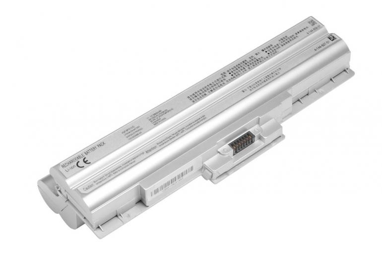 Батарея для ноутбука Sony VAIO VGN AW BZ CS FW NS SR VPCCW VPC-M 11.1V 6600mAh, серая