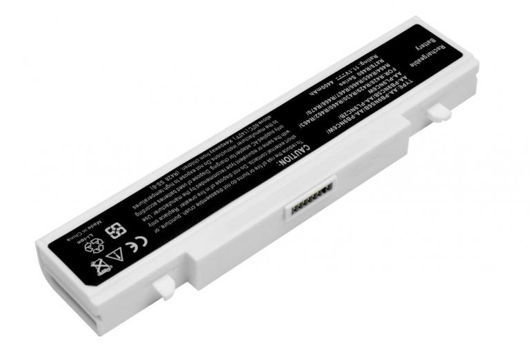 Батарея для ноутбука Samsung E152 P430 Q320 R522 R518 RC720 RF510 RV408 11.1V 4400mAh, белая