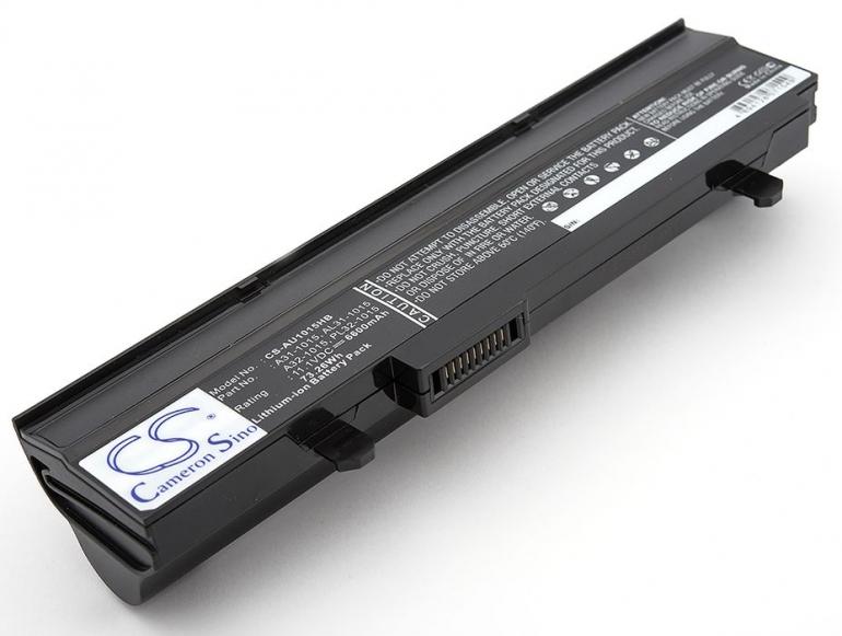 Батарея для ноутбука Asus Eee PC 1015 1016 1215 11.1V 6600mAh