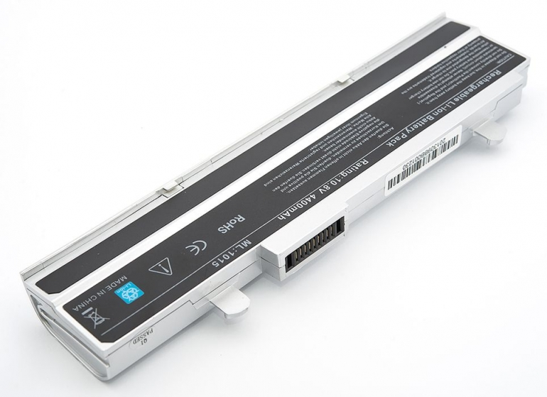 Батарея для ноутбука Asus Eee PC 1015 1016 1215 10.8V 4400mAh, серая