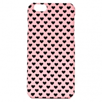 Чехол ARU для iPhone 6/6S Hearts Pink