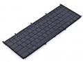 Клавиатура для ноутбука Dell Adamo 13-A101 черная Подсветка