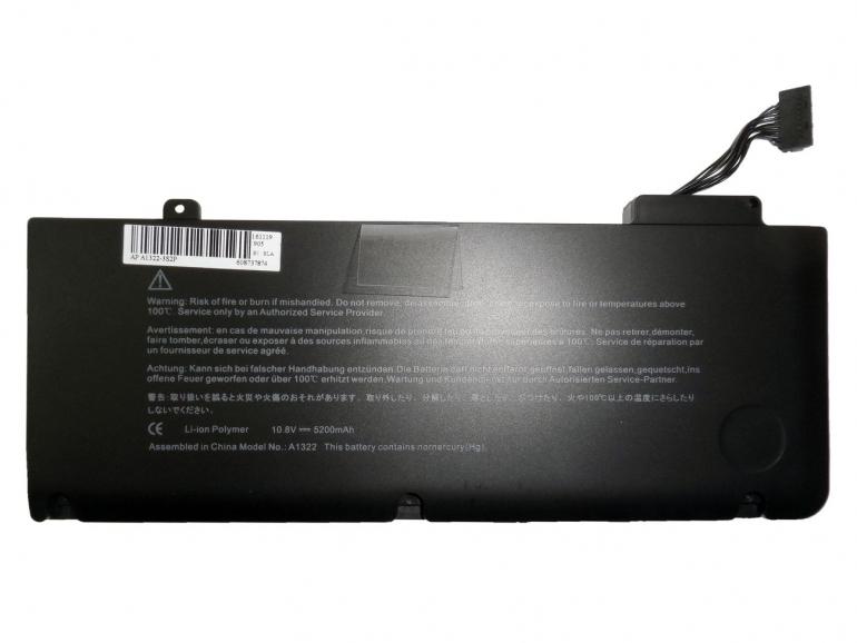 Батарея для ноутбука Apple MacBook Pro 13 10.8V 5200mAh