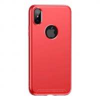 Чехол Baseus для iPhone X/Xs Soft Case Red