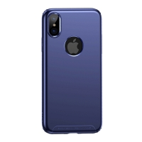 Чехол Baseus для iPhone X/Xs Soft Case Blue