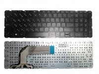 Клавиатура HP Pavilion 17 17-N 17-E, черная без рамки, Прямой Enter