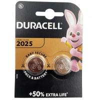 Батарейка Duracell CR2025-U2 2шт.