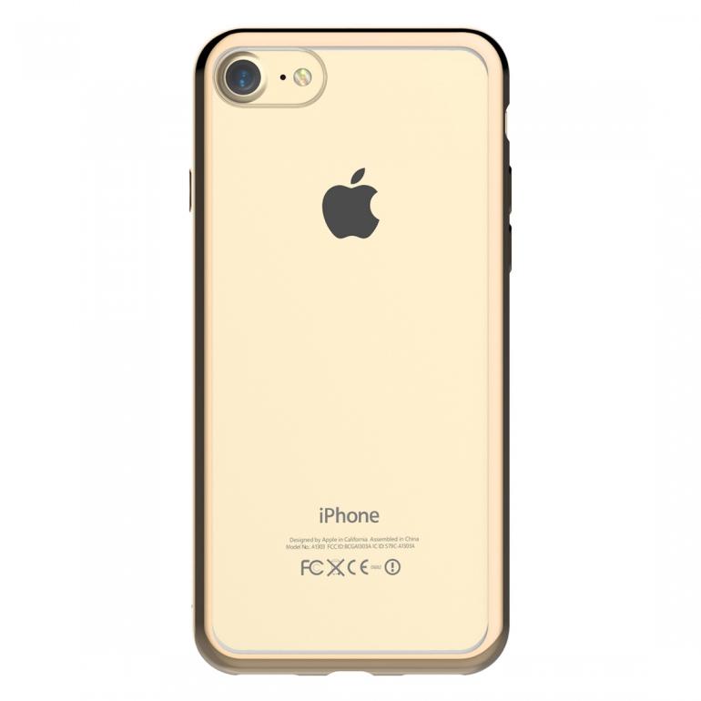 Чехол Devia для iPhone SE 2020/8/7 Glitter Champagne Gold