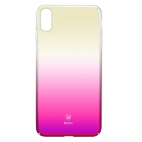 Чехол Baseus для iPhone X/Xs Glaze pink