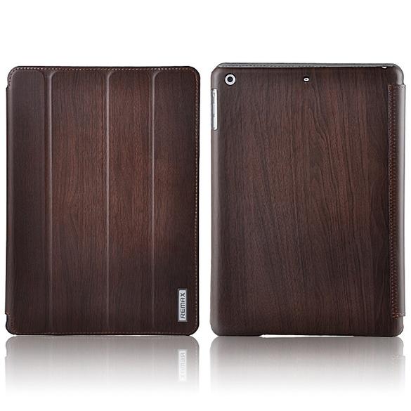 Чехол Remax для iPad Air/2017/2018 Wood Coffee