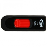 USB накопитель Team C141 8GB Black/Red
