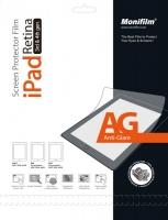 Защитная пленка Monifilm для iPad 2, New iPad 3, iPad 4, AG - матовая